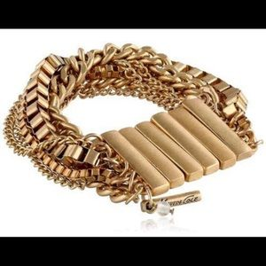 NWT Kenneth Cole, Gold Multi-Strand Bracelet.